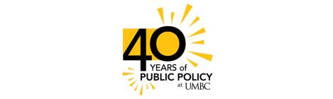 Public Policy 40th Anniversary Graphic, Color