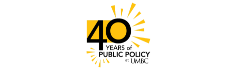 Public Policy 40th Anniversary Graphic, Color